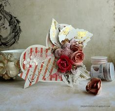 With all my heart - a card by Riikka