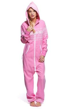 bd6b90b92a The Onepiece Lusekofte Adult Onesie comes in Light Pink and is designed  with premium super soft cotton and looks great on both men and women.