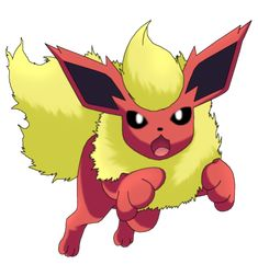 50 Pokemon #13-Flareon by MegBeth
