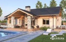 Miriam V - Dobre Domy Flak & Abramowicz Home Fashion, House Plans, Mansions, House Styles, Outdoor Decor, Home Decor, Projects, Blueprints For Homes, Mansion Houses