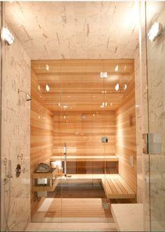 I need that sauna!