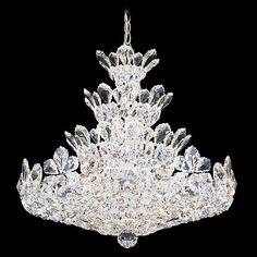 "Schonbek Trilliane 24"" Wide Swarovski Crystal Chandelier - #91473 