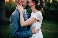 initmate bride and groom portrait; columbus wedding photographer; j hannah; golden light