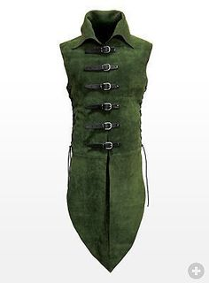 Quality Suede Elven Jerkin / Surcoat Body Armour Stage Costume & LARP 4 Colours in Toys & Games, Wargames & Role-Playing, Role-Playing Larp, Elf Kostüm, Costume Carnaval, Medieval Costume, Elven Costume, Medieval Clothing, Costume Design, Cool Outfits, Mens Fashion
