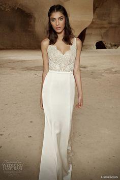 limorrosen #bridal 2014 sleeveless #wedding dress ariel #weddingdress #weddings