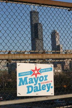 Mayor Richard M. Daley, forever and ever (Chicago Pin of the Day, 3/18/2016).