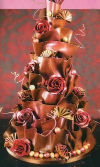 Мастер-Классы из Шоколада Chocolate_techniques_and_how_to's - Мастер-классы по украшению тортов Cake Decorating Tutorials (How To's) Tortas Paso a Paso