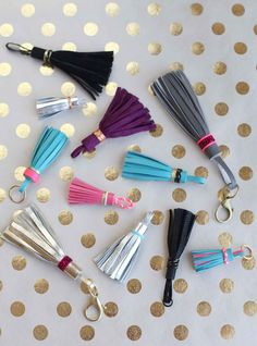 DIY Leather Tassel Keychain 50 DIY Keychains For You, Your Friends and Your…