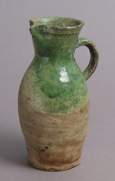 late 1400s or early 1500s Geography: Made in probably Surrey, England Culture: British Medium: Partially glazed earthenware Dimensions: ...