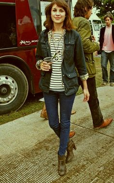 Barbour and stripe love