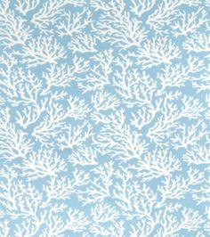 Shop Home Decor Print Fabric-Faylinn Teal Optical & Print Fabric at Joann.com