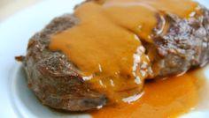 Den bedste steaksovs til bøffer og andet oksekød