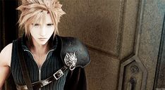 The award for zero cares given goes to Cloud Strife