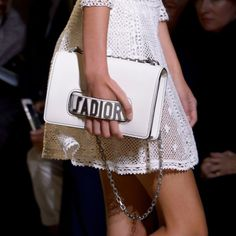 "J'adior Bag - ""The new (and highly hashtag-able!) moniker that Christian Dior's first-ever female creative director, Maria Grazia Chiuri, established with her debut Spring '17 collection is sure to make a fashion and commercial statement come next season."""