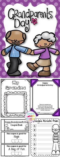 Grandparents Day Activities!