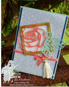 CI#06, Colour INKspiration, Rose Wonder, Stampin' Up! With a bow on top