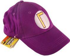 Super Mario Bros Waluigi Baseball Hat Purple by Banpresto.  13.99. Collect  them all! 0b7c06349187