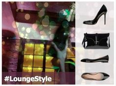 #LongeStyle #party #Nyc #club #drinks #fashion #event #heels #style #black #clutch Carlo Pazolini