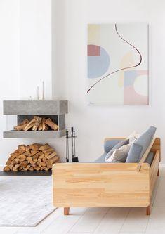 Monochrome Painting, Geometric Painting, Geometric Wall Art, Abstract, Minimalist Bedroom, Minimalist Art, Living Room Art, Living Room Interior, Beige Art