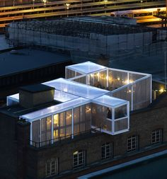 skyroom, london.  david kohn architects