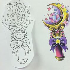 #SailorMoon design! #tattoo #sailormoontattoo #babeswithtattoos