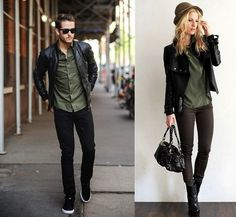 Inspo: He Wears/She Wears - Imgur Lots of fun androgynous outfits