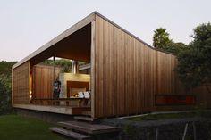 Bethells Bach by Herbst Architects | CEDAR CLADDING