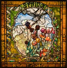 Spring by Louis Comfort Tiffany