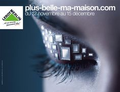 Plus belle ma maison Deco Web, Leroy Merlin Deco, Advertising, Ads, Graphic, Plus Belle, Creative, Retail, Play