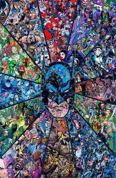 Batman y villanos