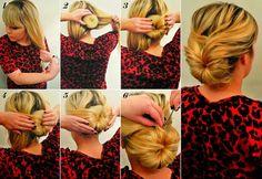 6 tutoriels photos pou rapprendre à se coiffer différemment! - Trucs et Astuces - Des trucs et des astuces pour améliorer votre vie de tous les jours - Trucs et Bricolages - Fallait y penser !