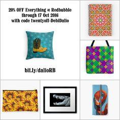 20% OFF Everything at Redbubble through 17 Oct 2016 with code twentyoff-DebiDalio. https://www.redbubble.com/people/DebiDalio/portfolio #homedecor #art #photography #accessories #phonecases #StudioDalio