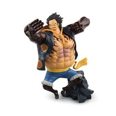 One Piece Fourth Gear Luffy Monkey D PVC Action Figure - OtakuForest.com
