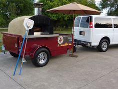 i'd make to order just for you from my portable pullable pizza oven!