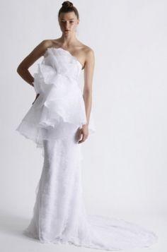 Innovador vestido de novia - Marchesa Spring 2011 Wedding Collection