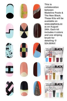 quick nail ideas by Madeline Poole