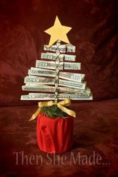DIY holiday, DIY Holiday gifts, Christmas gifts, birthday gifts, money as a gift, popular pin, creative gift ideas, gift ideas.