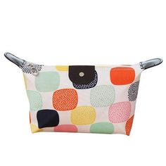 7bb63660baa0 Fashion Women Cosmetic Bag Animal Duck Flower Large Travel Lady Makeup Bag  PU Leather Toiletry Organizer Make Up Bag