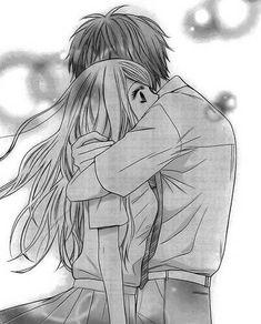 A great manga that should be a mile longer. Couple Anime Manga, Anime Couple Kiss, Manga Anime, Cute Couple Drawings, Anime Couples Drawings, Anime Bisou, Manga Romance, Image Couple, Cute Anime Coupes