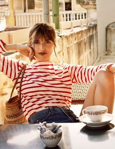 Reformation's new collaboration with French model and actress Jeanne Damas is the '70s-inflected, Parisian-cool wardrobe of your dreams.
