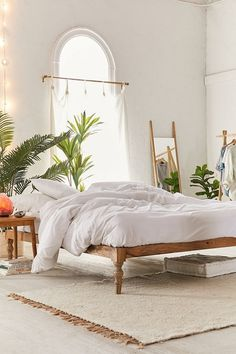 Bohemian Platform Bed Bedroom Design Chic Bedroom Furniture