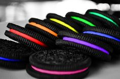 ^ - ^ Oreo I love them especially in rainbow vormat you too .- ^-^Oreo ♥ich liebe die besonders in rainbow vormat ♥ihr auch? dann hearted – Fitness GYM ^ – ^ Oreo ♥ I love them especially in rainbow vormat ♥ you too? then hearted – - Rainbow Food, Taste The Rainbow, Rainbow Stuff, Rainbow Dash, Rainbow Sweets, Cake Rainbow, Cute Food, Yummy Food, Tasty