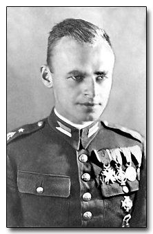 Witold Pilecki, broke into Auschwitz to bring out stories of Nazi Atrocities.