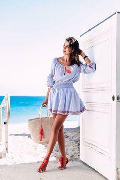 Пляжные аксессуары 2020. 100+ стильных идей | Новости моды
