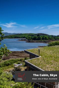 Uber Stylish and fabulously private, this romantic turf roofed bolthole is your magical getaway on the Isle of Skye with jaw dropping views, ridiculously high eco credentials and an unrivaled private shore-side location overlooking the Sound of Sleat.