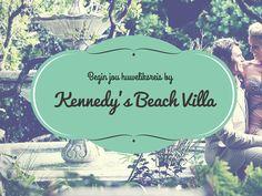 Hier is 'n wonderlike idee vir 'n wittebrood-wegbreek. Begin jou huweliksreis hiér: Kennedy's Beach Villa. Honeymoon Planning, Beach Villa, Blog, Poster, Blogging, Billboard