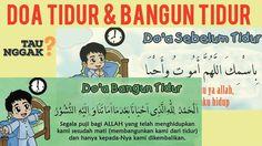 Doa sebelum & bangun tidur Sesuai Sunnah