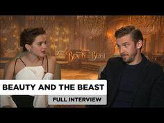 Beauty and the Beast | Emma Watson & Dan Stevens | Full Interview