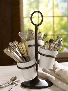 Was thinking about using this for plants instead of silverware :)