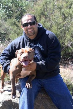 Mondo. From Pitbulls and Parolees. This man has definitely paid is dues. and then some Thank Mondo! For devoting your life to these dogs! <3 <3 <3